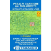 Prealpi Carniche / Val Tagliamento térkép - 013 Tabacco