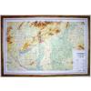 Magyarország általános földrajzi dombortérképe (2 szelvény) - HM