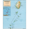 St. Vincent and the Grenadines térkép - Skyviews Inc