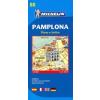 Pamplona térkép - Michelin 9088