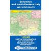 Monte Grappa - Basano - Feltre térkép - 051 Tabacco