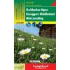 Fischbacher Alpen-Roseggers Waldheimat-Mürzzuschlag turistatérkép - f&b WK 021