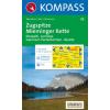 WK 25 - Zugspitze - Mieminger Kette turistatérkép - KOMPASS