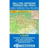 Valli del Natisone, Cividale del Friuli térkép - 041 Tabacco