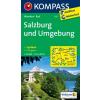 WK 017 - Salzburg és környéke turistatérkép - KOMPASS