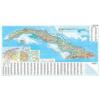 Kuba domborzati falitérkép - GiziMap