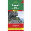 Svájc autótérkép - f&b AK 0301