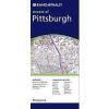 Pittsburgh, PA térkép - Rand McNally