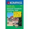 WK 773 - Naturpark Schwäbisch Fränkischer Wald turistatérkép - KOMPASS