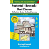 Pustertal-Bruneck-Drei Zinnen turistatérkép - f&b WKS 3