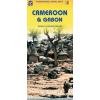 Kamerun és Gabon térkép - ITM