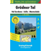 Grödnertal-Val Gardena-Sella-Marmolada turistatérkép - f&b WKS 5