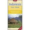 Indonézia: Papua és Maluku térkép - Nelles