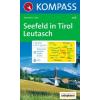 WK 026 - Seefeld-Leutasch turistatérkép - KOMPASS