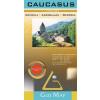 Kaukázus domborzati térkép - Gizimap