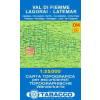 Val di Fiemme, Lagorai, Latemar térkép - 014 Tabacco