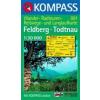 WK 891 - Feldberg - Todtnau turistatérkép - KOMPASS