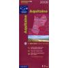 Aquitaine térkép - IGN R15