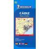 Cadiz térkép - Michelin 9092