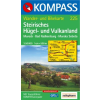 WK 225 - Steirisches Hügel und Vulkanland turistatérkép - KOMPASS
