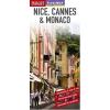 Nice, Cannes & Monaco laminált térkép - Insight