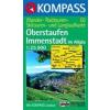 WK 02 - Oberstaufen - Immenstadt turistatérkép - KOMPASS
