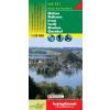 Mattsee-Wallersee-Irrsee-Fuschl-Mondsee turistatérkép - f&b WK 391