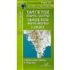 8.14 - Taygetos: Sparta - Mystras turistatérkép - Anavasi