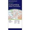 Columbia & West Columbia, SC térkép - Rand McNally