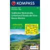 WK 074 - Südtiroler Weinstrasse - Unterland turistatérkép - KOMPASS