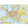 Európa politikai falitérkép (nagy méretű) - f&b