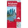 Brisbane és környéke térkép - Hema
