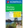 WK 207 - Wachau - Nibelungengau turistatérkép - KOMPASS