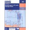 Guadeloupe to St Lucia Chart A4 - Imray