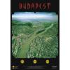 Budapest panorámatérképe falitérkép (tűzhető, keretes) - Stiefel