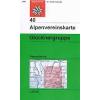 Glocknergruppe turistatérkép - Alpenvereinskarte 40
