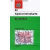 Sonnblick turistatérkép - Alpenvereinskarte 42
