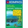 WK 8 - Tegernsee - Schliersee - Wendelstein turistatérkép - KOMPASS