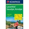 WK 219 - Lavanttal - Saualpe - Koralpe turistatérkép - KOMPASS