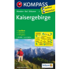 WK 9 - Kaisergebirge turistatérkép - KOMPASS