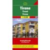 Tirana várostérkép - f&b PL 118