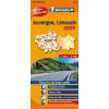 Auvergne / Limousin térkép - Michelin 522