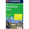 WK 451 - Westlicher Harz turistatérkép - KOMPASS