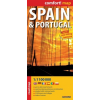 Spanyolország és Portugália Comfort térkép - ExpressMap