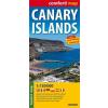 Kanári-szigetek Comfort térkép - ExpressMap