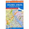 Isztambul: európai oldal térkép - Yayinlari
