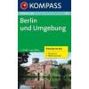 WK 700 - Berlin u. Umgebung (4-K-Set) turistatérkép - KOMPASS