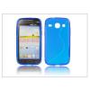 Haffner Samsung i8260 Galaxy Core szilikon hátlap - S-Line - kék
