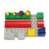 Bolyongolyó plusz elemek: Alaplap (8 építőelem +1 alaplap)