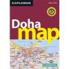 Doha térkép - Explorer Publishing